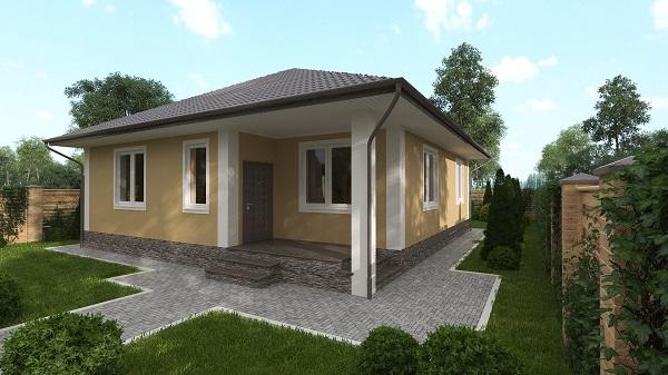 Дом «Уютный» | КП «Альпийская Деревня»